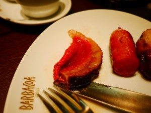 バルバッコア・グリル 美しい赤身肉