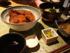 表参道 新潟館ネスパス 食楽園 タレカツ丼 酱汁猪排饭套餐