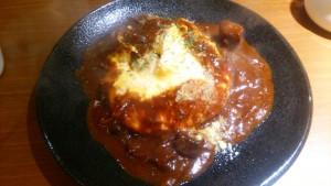 神宮苑(じんぐうえん) オムチーズカレー 蛋包咖喱饭