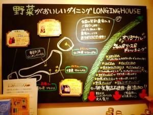 LONGING HOUSE 看板