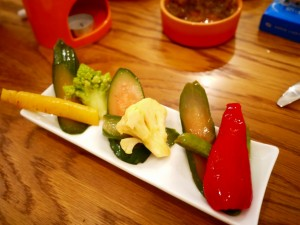 LONGING HOUSE 野菜のピクルス 腌制蔬菜