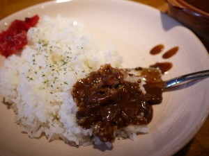 原宿スタンド 牛すじカレー 牛筋咖喱