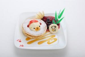 ポムの樹 オムライヌパンケーキ 蛋包松饼