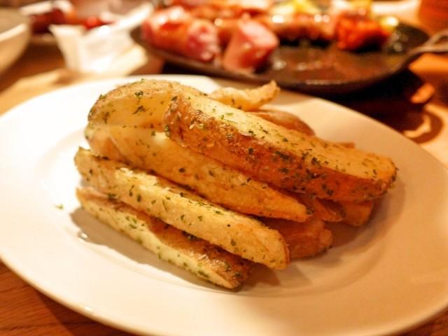 原宿 表参道 よなよなビアワークス メークインのフライドポテト 薯条