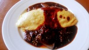 MIYASHITA 表参道ヒルズ店 オムハヤシライス 牛肉蛋包烩饭