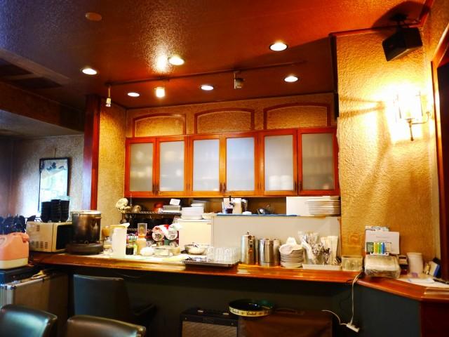 原宿 北参道 喫茶・スナック ベラミ 店内