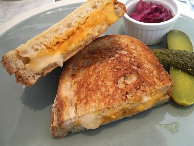 グリルドチーズ サンドイッチ