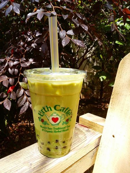 Urth Caffe (アースカフェ) 表参道店 グリーンティーボバ