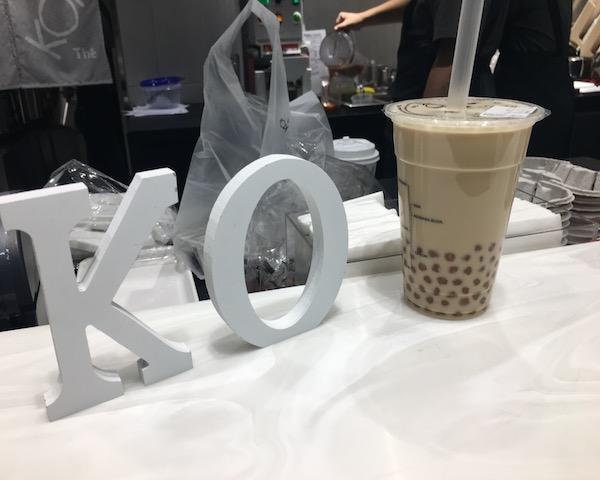 KOI The (コイティー)表参道店 タピオカミルクティ