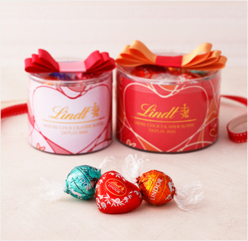 リンツショコラカフェ(Lindt Chocolat Cafe Omotesando)表参道店 リンドール リボンギフトボックス