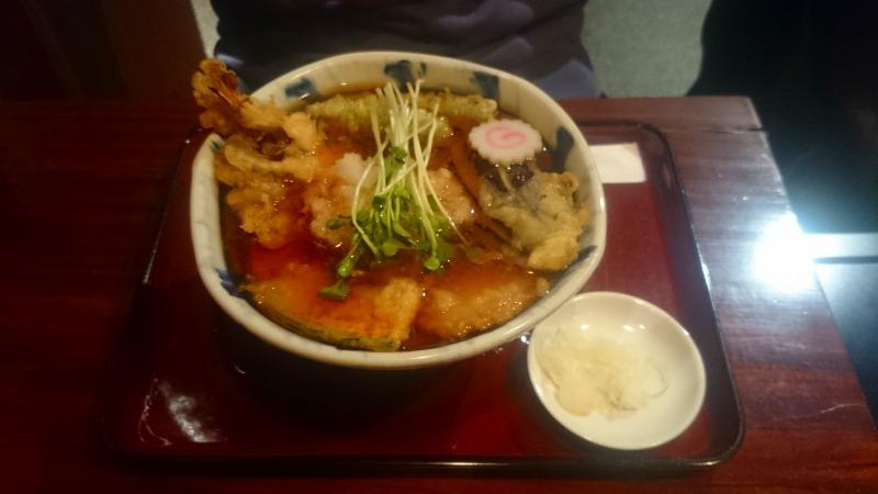 天ぷらそば