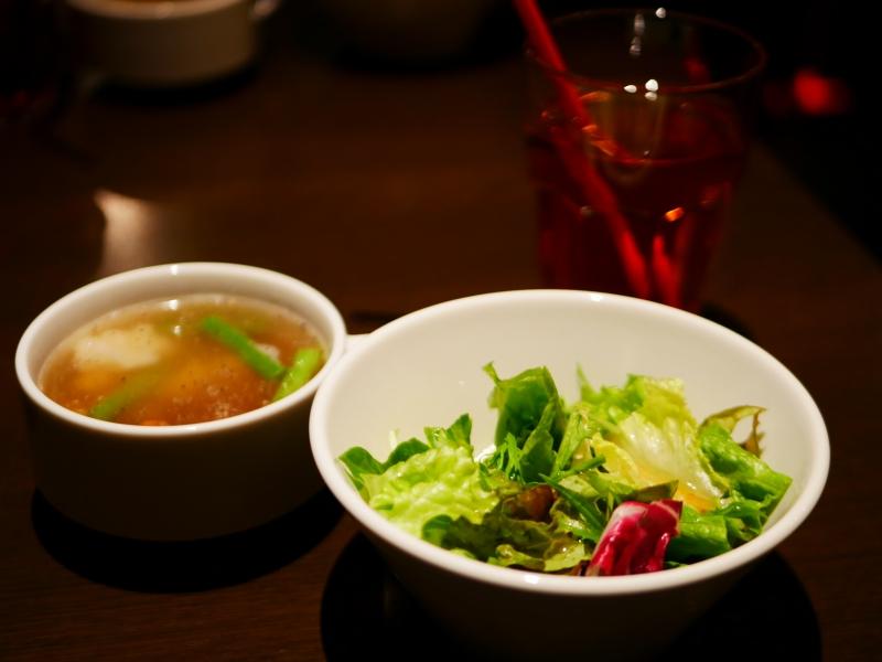 日替わりランチプレート (ライスとスープ付き)