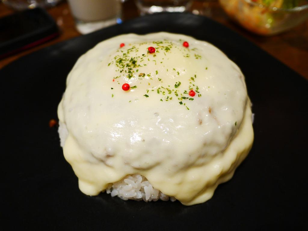 キーマカレー(チーズトッピング)