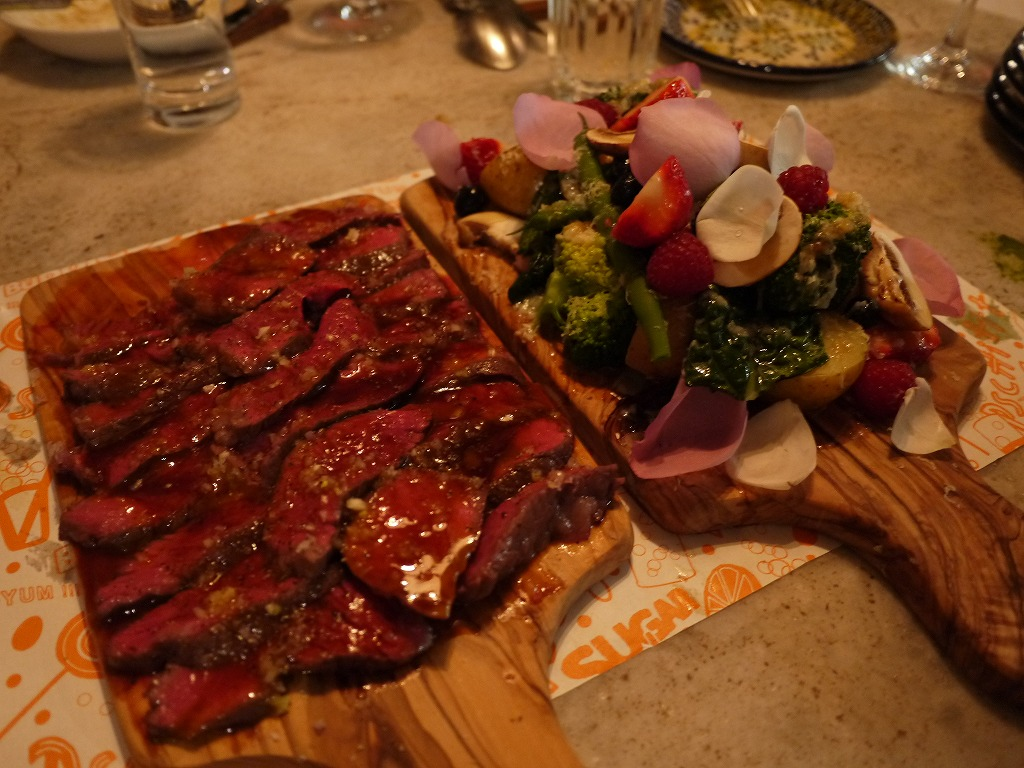 山形黒毛和牛のランプステーキ