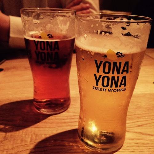 よなよなビアワークス 青山店 ビール
