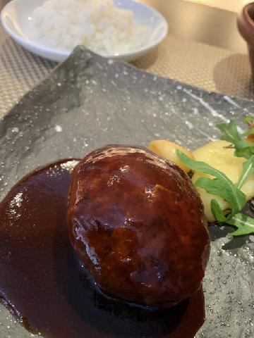 黒毛和牛ハンバーグステーキ