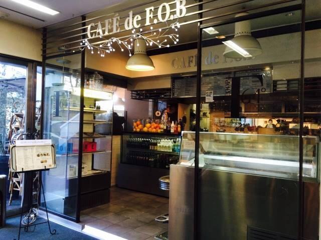 【閉店】CAFE de F.O.B(カフェ ド フォブ 原宿店)
